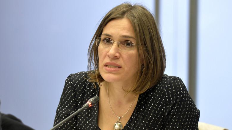 USR-PLUS propune o tânără pesionară, protejata lui Vasila Blaga, ca secretar de stat la Interne