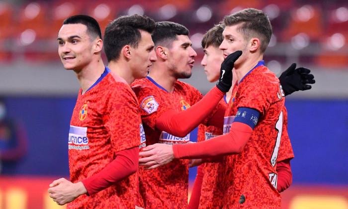 FCSB a câștigat meciul cu Poli Iași