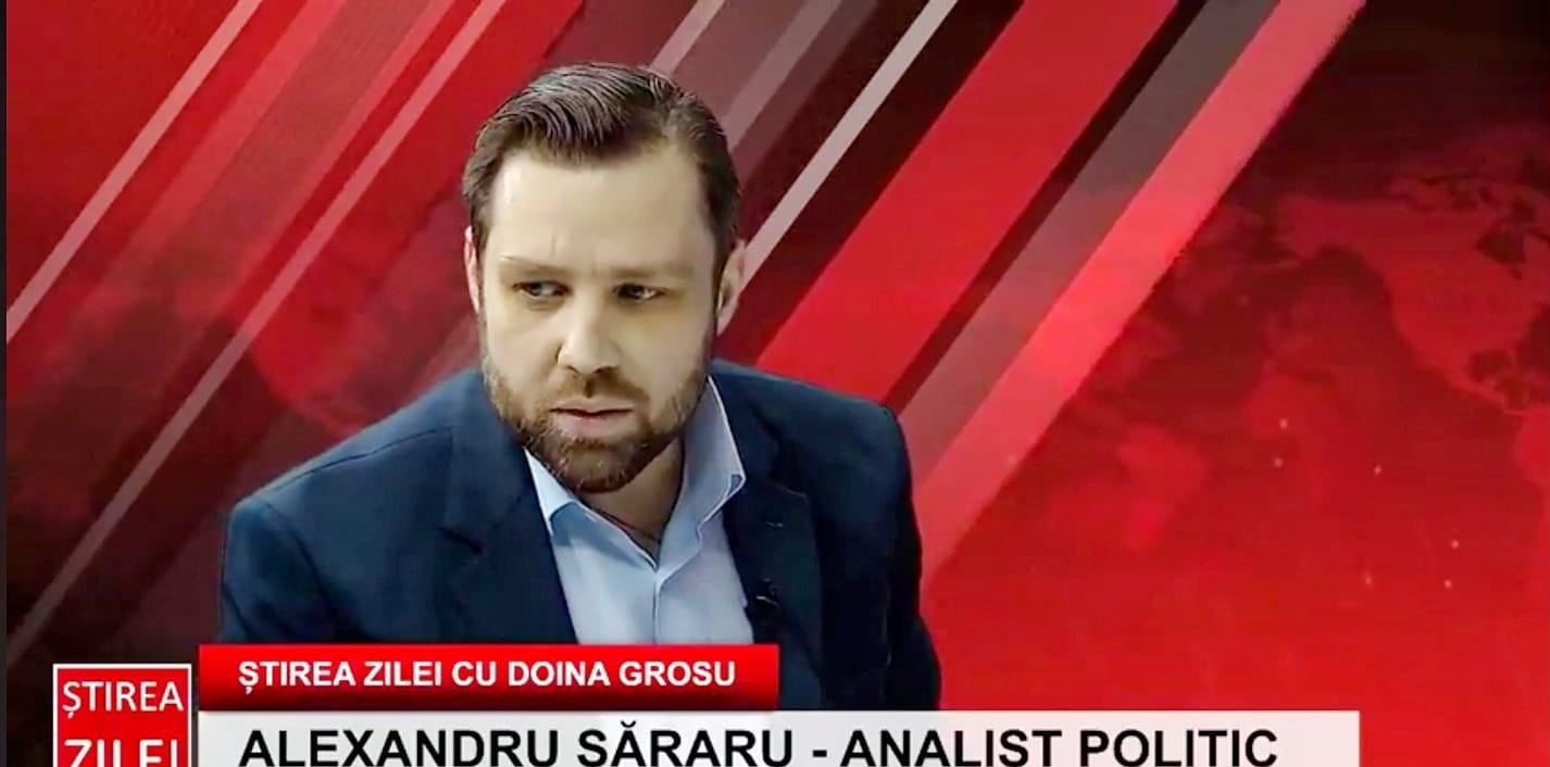 Alexandru Săraru: AUR este singurul partid de opoziție din Parlament – ROPRES.RO