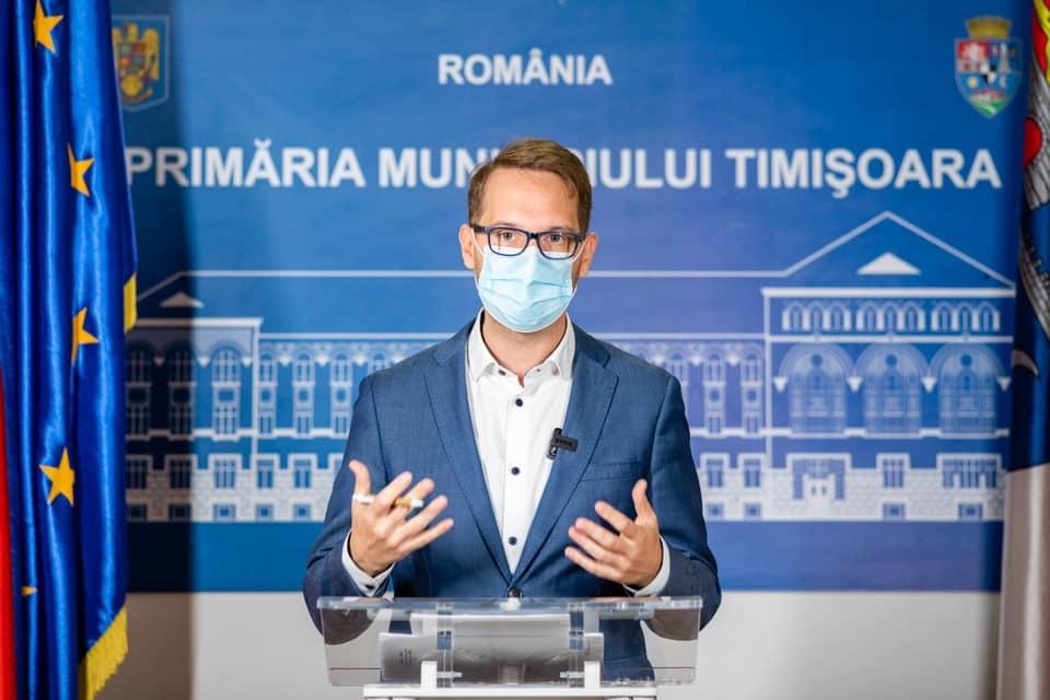 """Arafat a prelungit carantina în Timișoara spre bucuria lui Fritz. """"Altă variată nu există"""""""