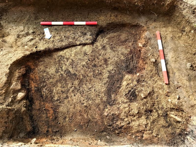 """O locuință medievală cu """"surprize"""", descoperită la Târgu Neamț"""