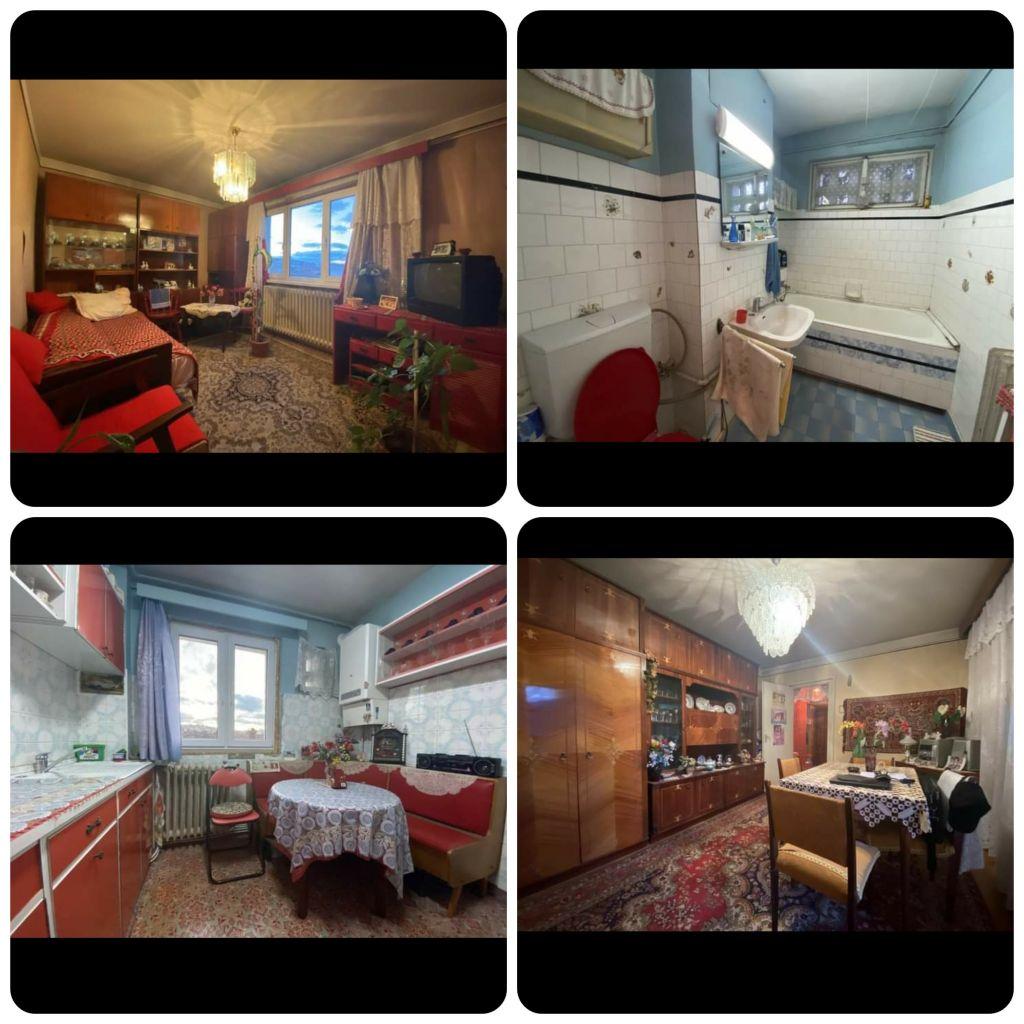Apartament comunist, scos la vânzare cu un preț astronomic! Nu lipsesc carpetele, bufetul și milieurile. GALERIE FOTO