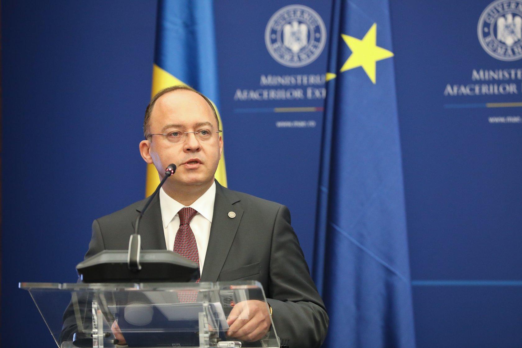 Bogdan Aurescu, despre ambasadorul rus Kuzmin: Nu știe că România e în NATO