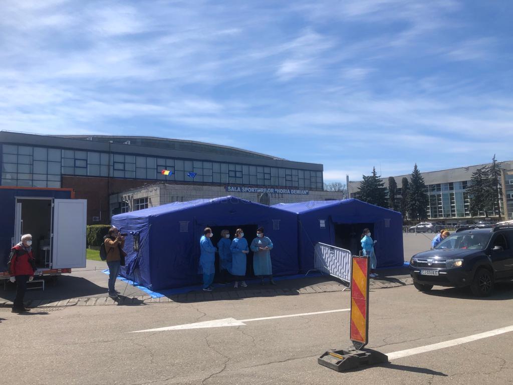 Maraton de vaccinare anti-COVID la Sala Polivalentă BT Arena. Clujenii se pot vaccina fără programare