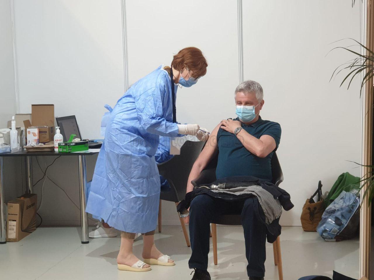 Peste 1.500 de persoane vaccinate în două zile, la maratonul de la Cluj-Napoca
