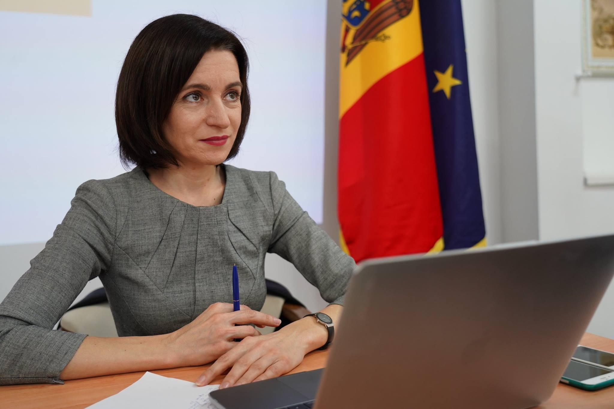 Maia Sandu ofensează România la Roma: cetățenia română-un pașaport