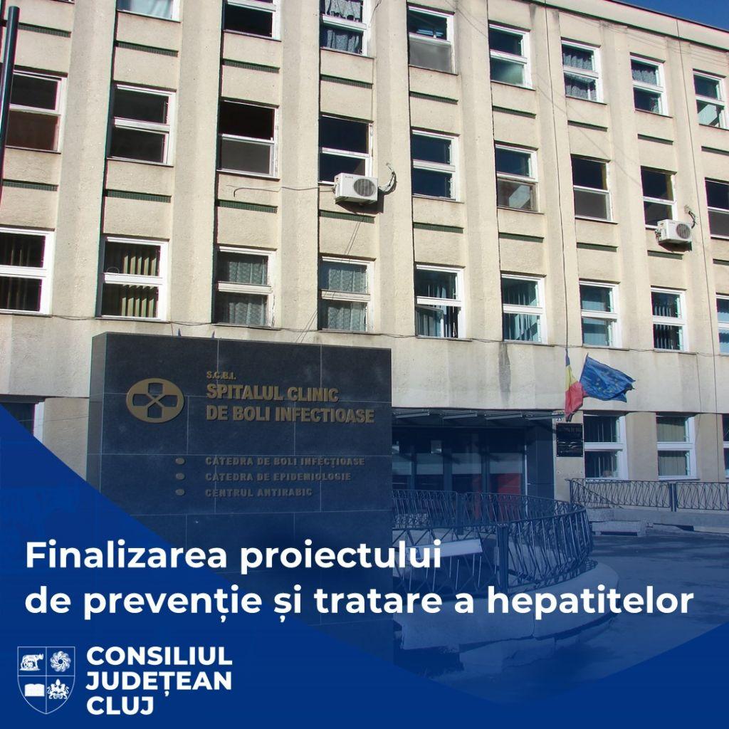 Proiectul vizând prevenția și tratarea hepatitelor B și C, finalizat de Spitalul de Boli Infecțioase