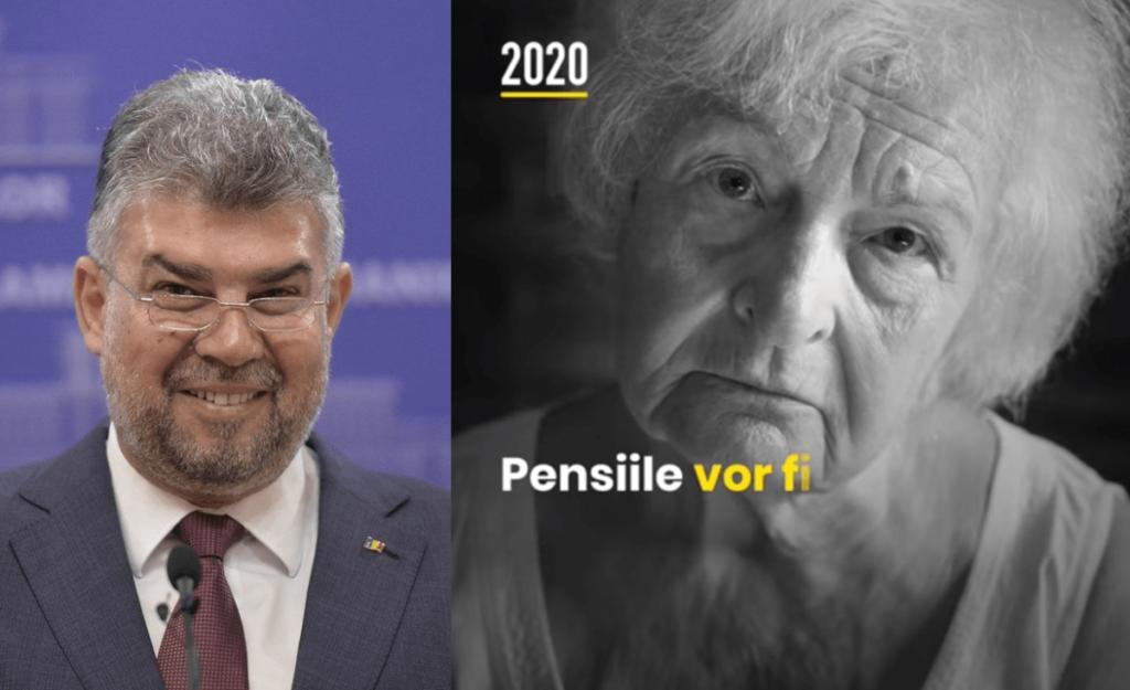 """PSD, """"ciuma roșie"""", manipulează pensionarii! Peste 1 milion de euro pe reclame politice"""