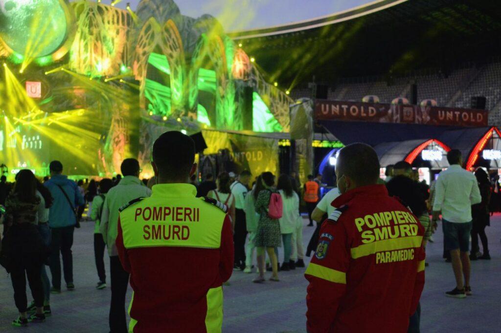 651 de festivalieri au primit ajutor medical pe perioada Untold. 19 persoane, duse la spital