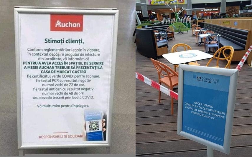 BUCUREȘTI: Se introduce certificatul verde! Nevaccinații NU mai au acces la mall – 60m.ro