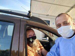 Expertul în sănătate Răzvan Cherecheș s-a vaccinat cu doza a treia împotriva COVID-19